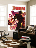 Iron Man 15 Cover: Iron Man, Hulk, Thor, Stark and Tony Wall Mural by Gerald Parel