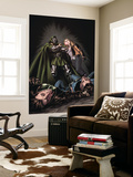 X-Factor 201 Cover: Miller, Layla and Dr. Doom Wall Mural by David Yardin