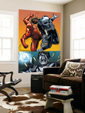 Daredevil Vs. Punisher No.4 Cover: Daredevil and Punisher Wall Mural by Dave Lapham