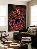 Captain America No.28 Cover: Sin, Cobra, Eel and Viper Wall Mural