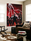Secret Invasion No.1 Cover: Captain America Wall Mural by Gabriele DellOtto