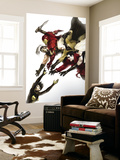 The Mighty Avengers 20 Cover: Wasp, Ares, Iron Man, Sentry, Wonder Man and Ms. Marvel Wall Mural