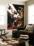 Incredible Hercules 139 Cover: Hercules, Wolverine and Spider-Man Wall Mural by Michael Bierek
