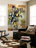 X-Men 163 Group: Wolverine, Havok, Juggernaut and X-Men Wall Mural by Salvador Larroca