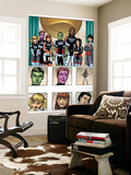 New X-Men: Academy X Yearbook Group: Anole Wall Mural by Georges Jeanty