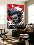 Wolverine: Soultaker #1 Cover: Wolverine Mural