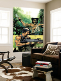 Wolverine Punisher No.5 Cover: Wolverine and Punisher Wall Mural by Lee Weeks