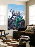 StarJammers No.3 Cover: Chod, Raza and Starjammers Wall Mural by Jorge Lucas