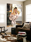 Emma Frost No.7 Cover: Emma Frost Charging Wall Mural