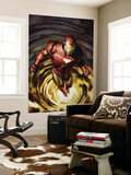 Iron Man 80 Cover: Iron Man Wall Mural