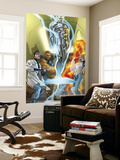 Ultimate Fantastic Four No.43 Cover: Mr. Fantastic Wall Mural by Pasqual Ferry