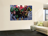 The Mighty Avengers No.21 Group: U.S. Agent, Hulk, Wasp, Hercules, Jocasta, Stature and Vision Wall Mural by Khoi Pham