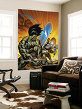 Skaar: Son Of Hulk 7 Cover: Skaar and Silver Surfer Wall Mural by Ed McGuiness