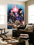 New Exiles No.1 Cover: Psylocke Fighting Wall Mural by Greg Land
