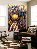 Eternals 7 Group: Ikaris, Wolverine and Cyclops Wall Mural by Eric Nguyen