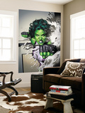She-Hulk No.5 Cover: She-Hulk Wall Mural by Adi Granov