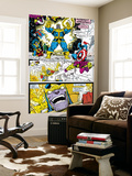 Infinity Gauntlet No.4 Group: Thanos, Captain America and Drax The Destroyer Wall Mural by George Perez