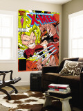 Uncanny X-Men No.213 Cover: Sabretooth and Wolverine Wall Mural by Alan Davis