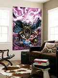 Captain America And The Falcon No.11 Cover: Modok and Captain America Wall Mural by Joe Bennett