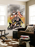 Wolverine Captain America 1 Cover: Wolverine and Captain America Wall Mural by Tom Derenick