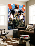 Captain America Theater of War: Ghosts of My Country #1 Cover: Captain America Mural por Butch Guice