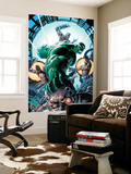 Incredible Hulk No.86 Cover: Hulk Wall Mural by Andy Brase