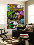 Tales to Astonish No.77 Cover: Hulk, Banner and Bruce Wall Mural by Vince Colletta