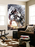 War Machine 10 Cover: Iron Patriot and War Machine Wall Mural
