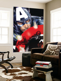 Captain America 37 Cover: Captain America Wall Mural by Jackson Guice