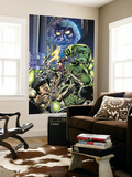 Fantastic Force 3 Cover: Ego, Hulk and Wolverine Wall Mural by Bryan Hitch