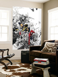 The Amazing Spider-Man 555 Cover: Spider-Man and Wolverine Reproduction murale géante par Chris Bachalo