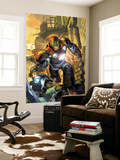 Ultimate Comics Armor Wars No.1 Cover: Iron Man Wall Mural by Brandon Peterson