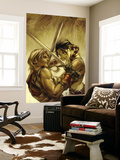 Thor Son Of Asgard 7 Cover: Sif and Thor Wall Mural