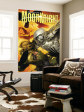 Vengeance of the Moon Knight 5 Cover: Moon Knight and Scarecrow Wall Mural by Leinil Francis Francis Yu