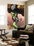 She-Hulk No.2 Cover: She-Hulk Wall Mural by Adi Granov