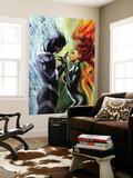 Realm of Kings Inhumans No.3 Cover: Medusa and Black Bolt Wall Mural by Stjepan Sejic