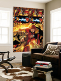 Marvel Adventures Iron Man No.3 Group: Iron Man, Pepper Potts and Virginia Wall Mural by Ronan Cliquet