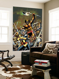 Wolverine: First Class 4 Cover: Shadowcat and Wolverine Wall Mural by Alan Davis