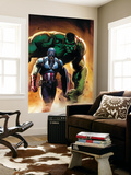 Ultimate Origins 5 Cover: Captain America and Hulk Wall Mural by Gabriele DellOtto