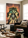 Planet Skaar Prologue No.1 Cover: Skaar Wall Mural by Alex Garner
