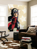 New Avengers No.61 Cover: Captain America Wall Mural by Stuart Immonen