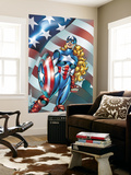 American Dream No.1 Cover: American Dream Wall Mural by Ron Frenz