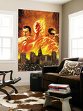 The Marvels Projects No.1 Cover: Human Torch Wall Mural by Steve MCNiven