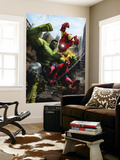 Marvel Adventures Iron Man Special Edition 1 Cover: Iron Man, Hulk and Spider-Man Reproduction murale géante par Francisco Ruiz Velasco