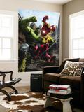 Marvel Adventures Iron Man Special Edition No.1 Cover: Iron Man, Hulk and Spider-Man reproduction murale géante par Francisco Ruiz Velasco