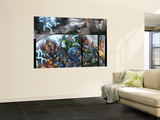 Thor: Blood Oath No.4 Group: Thor, Hogun, Volstagg and Fandral Wall Mural by Scott Kolins