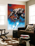 Ultimate Human No.1 Cover: Iron Man and Hulk Premium Wall Mural by Cary Nord