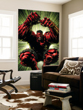 Hulk: Red Hulk Must Have Hulk No.3 Cover: Hulk Wall Mural by David Finch