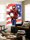 Spider-Girl 80 Cover: Spider-Girl Wall Mural by Pat Olliffe