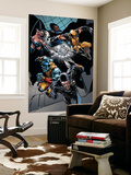 X-Men vs. Agents of Atlas No.1 Group: Cyclops, Colossus, Wolverine, Storm, Emma Frost and Cloak Wall Mural by Carlo Pagulayan